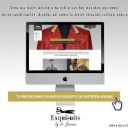 Un nuevo concepto de sastrería online: Exquisuits by de Juana