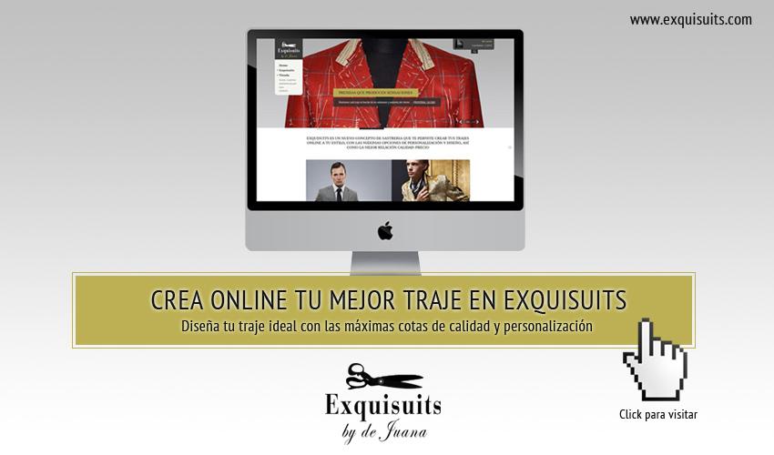 Crea online tu mejor traje en Exquisuits width=