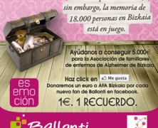 Lucha contra el Alzheimer: haz click en Me Gusta en el Facebook del CC Ballonti y ayuda a donar hasta 5.000 euros