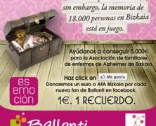 """Lucha contra el Alzheimer: haz click en """"Me Gusta"""" en el Facebook del CC Ballonti y ayuda a donar hasta 5.000 euros"""