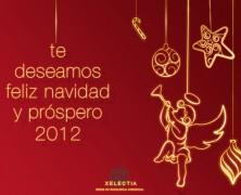 Te deseamos Feliz Navidad y próspero año 2012