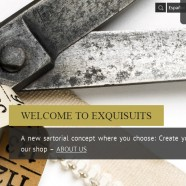 Bespoke Suits Online – Exquisuits by de Juana launched in english