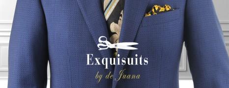 Compra tu traje a medida online con total satisfacción con la garantía devolución de dinero Exquisuits