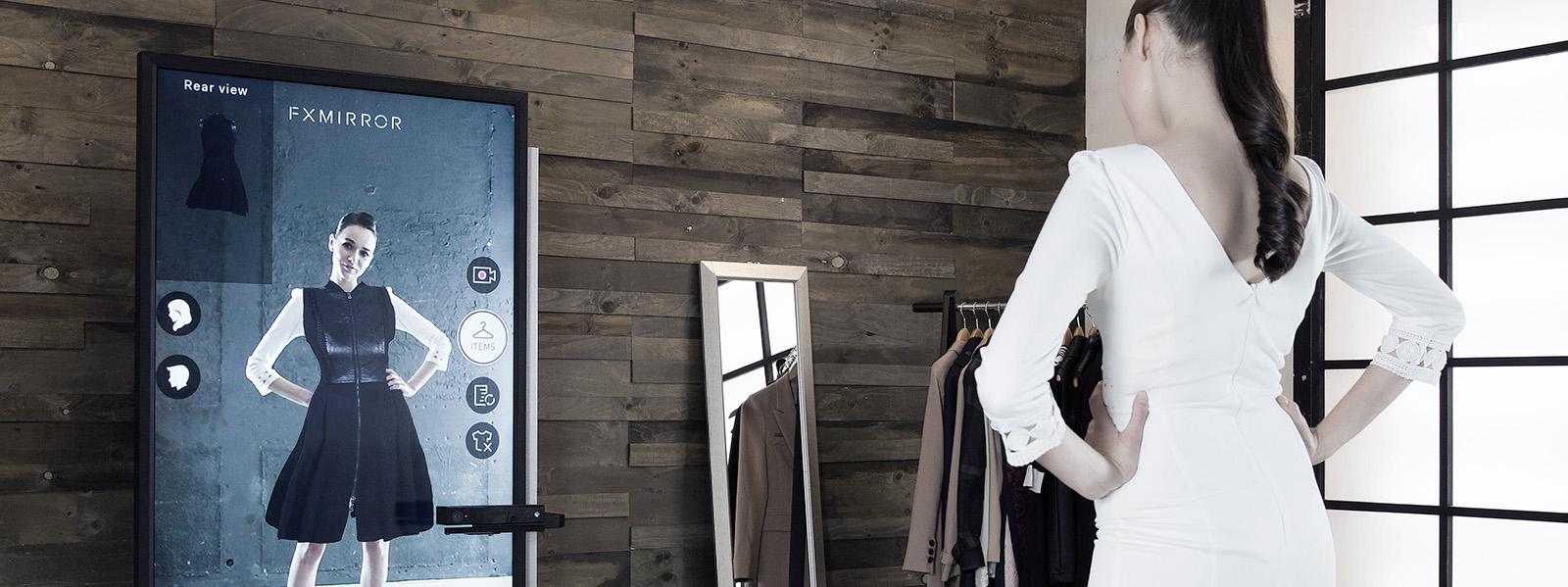 FX Mirror es el sistema de prueba virtual para tiendas de moda más avanzado del mundo